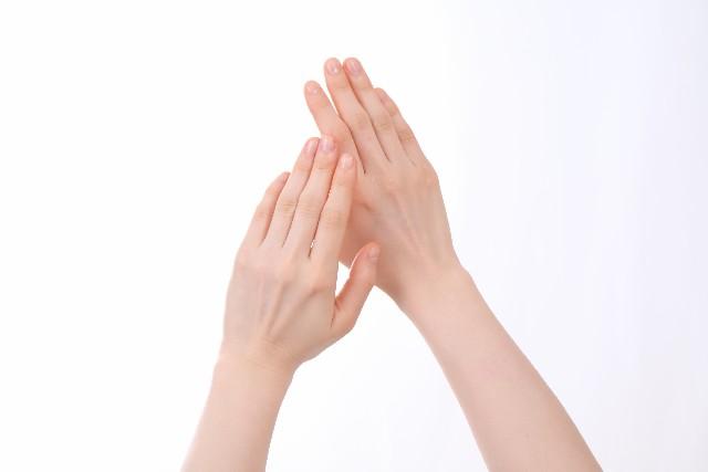 キレイな手